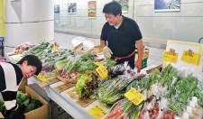 丸の内行幸マルシェ (毎週金曜開催)『5日のお薦め《八ヶ岳の高原野菜》』