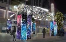 """有楽町マリオンイルミネーション""""Starry sky2018-2019″"""
