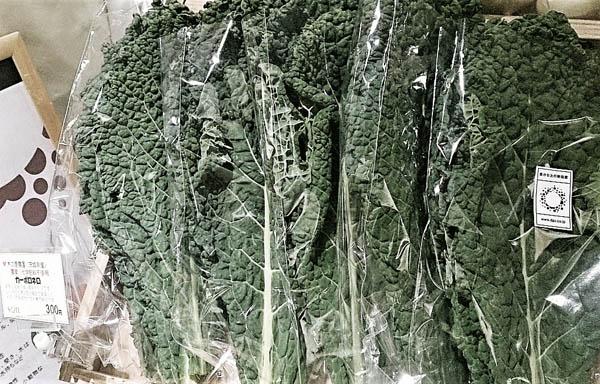 イタリアン野菜の「カーボロネロ」も、栄養価抜群な冬の野菜。